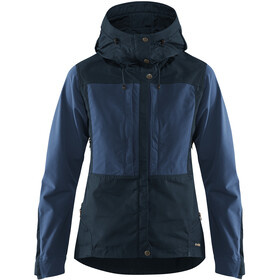 Fjällräven Keb Jacke Damen dark navy-uncle blue